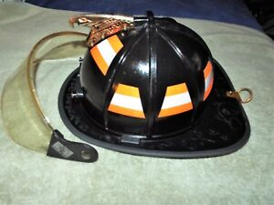 Morning Pride Firefighter Helmet Eagle Turnout Ht bf2 hdo 2010 Excellent