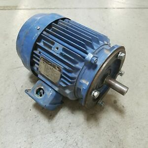 Sm cyclo Wj0054fca Induction Motor 5hp 1735rpm 184tc Frame Used