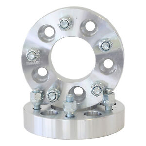 2 1 25 5x4 75 To 5x4 5 Wheel Spacers Adapters 12x1 5
