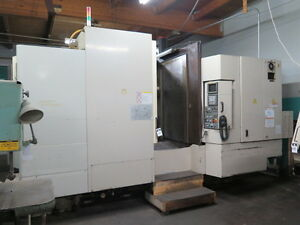 1998 Okuma Howa Milac 630 Cnc Horizontal Machining Center hmc 7786389