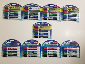 41 Expo Dry Erase Markers Set Lot White Board Pens Assorted Colors For Teachers