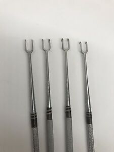 4 Pcs Of Nopa 072 07 Pilling Weck 44 2106 Joseph Skin Hook 6 5 Lab Vet Prop