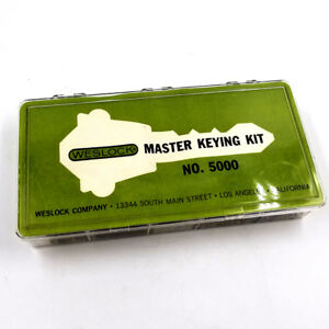 Weslock Master Keying Kit No 5000