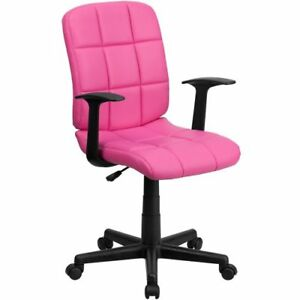 Simmons Quilted Cushion Task Chair In Vinyl