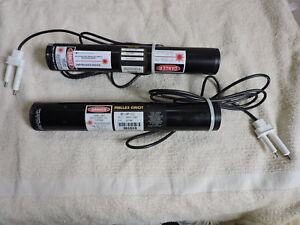 2 Melles Griot Helium Neon 5mw 632 8nm Lasers 05 lhp 111 05 lhp 121 202