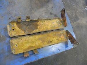 1974 Farmall 966 Diesel Farm Tractor Battery Trays