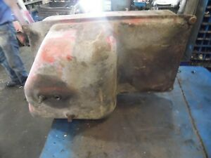 1974 Farmall 966 Diesel Farm Tractor Fuel Tank clean Inside