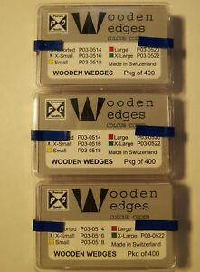 Pearson Dental Wooden Wedges Xtra Small pk Of 400 3 Pks