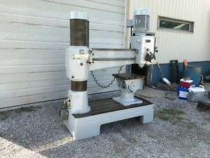 radial Arm Drill Press 12 X 4 Wilton