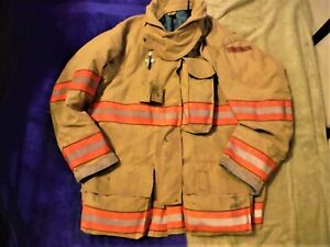 2007 Globe G xtreme Turnout Jacket 42 X 32 Drd Firefighter Bunker Gear Coat