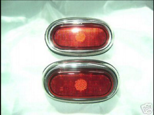 Vintage Style 1942 1948 Ford Led Complete Tail Lights