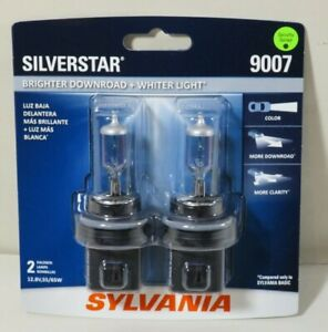 Headlight Bulb silverstar Blister Pack Twin Headlight Bulb Sylvania 9007st bp2