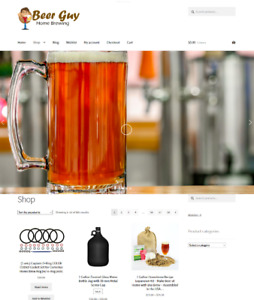 Home Beer Brewing Website Business For Sale