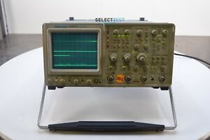 Tektronix 2465b Analog 400 Mhz 4 Channel Oscilloscope