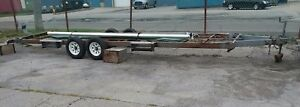22 Foot House Trailer Ready For Your New Build vgc 2 Axle 2 Inch Ball