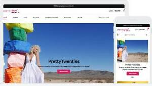 Shopify Dropshipping Women s Fashion Website store Usa Supplier Ready Made