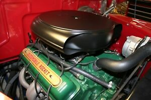 Caddy Hot Rod Retro Air Cleaner Vintage Style Very Cool Bomber Lead Sled Hot Rod