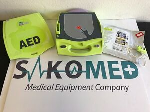 Zoll Aed Plus New Battery And New Adult Stat Pads Ii