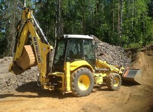 2006 New Holland Lb 95b 4pt Backhoe