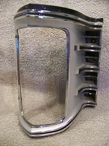 1971 Chrysler Imperial Rh Turn Signal Grill Bezel Lebaron Coupe 3403954