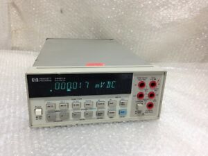 Digital Multimeter Hp 34401a Untested