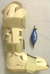 New Aircast Xp Walker Extra Pneumatic 01p s Brace Size Small Tall W Pump