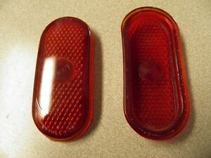 5930523 Tail Light Lens Guide Nos Glass 1939 40 Oldsmobile Sold Individually