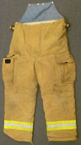 36x30 Pants Firefighter Turnout Bunker Fire Gear Fire dex P923
