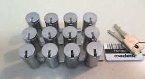 Medeco High Security Vending Lock T handle Cylinders 12 Pcs