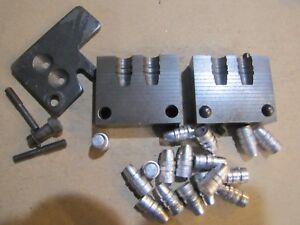 38-158 SWC RCBS Double Cavity Gas Check Bullet Mold Lead Bullet Casting Mould