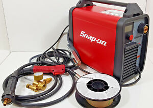 New Snap on Synergic Inverter Mig160i Mig Welder 160a Gas gassless