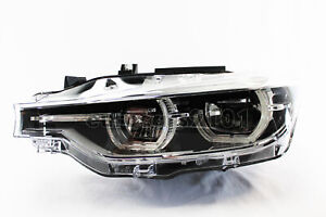 New Bmw Hella Front Left Headlight Assembly 012102951 63117419629