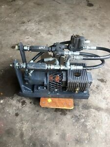 Industrial Hydraulic drive Plunger Pump Interpump Group W4