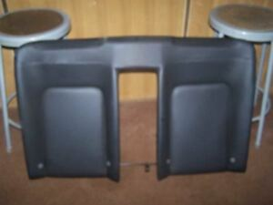 08 Vw Beetle Convertible Rear Upper Seat Cushion Black Leather 592641