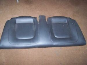 08 Vw Beetle Convertible Rear Lower Seat Cushion Black Leather 592642