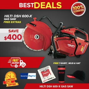 Hilti Dsh 600 x Gas Saw With One 12 Universal Blade New Fast Shipping