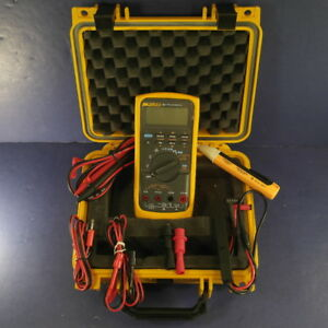 New Fluke 787 Processmeter Hard Case Accessories