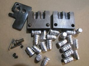 RCBS 45 255 SWC Double Cavity Bullet Mold Lead Bullet Casting Mould
