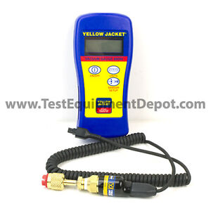 Yellow Jacket 69086 Hand held Vacuum Gauge W Fabric Carry Pouch