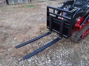 Toro Dingo Mini Skid Steer Attachment New 42 Pallet Forks Ship For 149