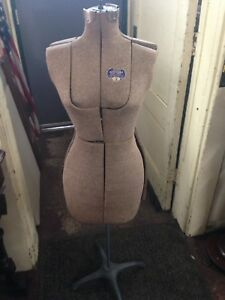 1950 Acme Adjustable Dress Form With Stand