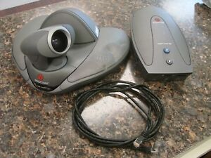 Polycom Vsx 7000 Video Conference Camera 2201 22298 001 With Visual Concert