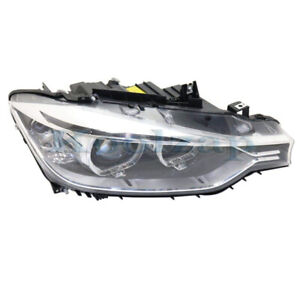 12 15 Bmw 3 Series Front Headlight Headlamp Xenon Hid Head Light Lamp Right Side