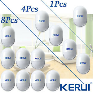433mhz Kerui P829 Pir Motion Detector Sensor Accessories For Home Alarm System
