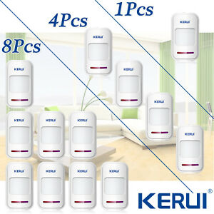 433mhz Kerui Wireless Pir Detector Motion Sensor For Home Alarm Securtity System