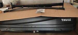Genuine Ford Roof Cargo Box By Thule force Large With Explorer Cross Rails
