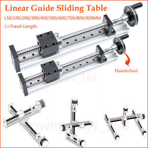 Cnc Linear Rail Guide Slide Stage Actuator Ball Screw Motion Table