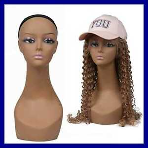 L7 Mannequin Womens 18 Life Style Plastic Mannequin Model Head For Display Wigs