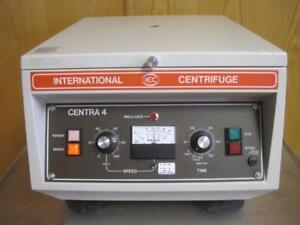 Iec International Damon Centra 4 Lab Tabletop Centrifuge W 818 12 Place Rotor