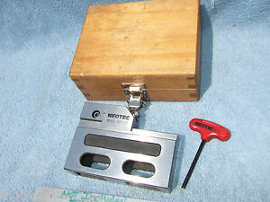 Edm Ss Vise Neotec Wpv 50 Machinist Toolmaker 1 x4 x5 Grind Inspection Clean